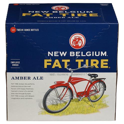 New Belgium Fat Tire 12 pack bottles