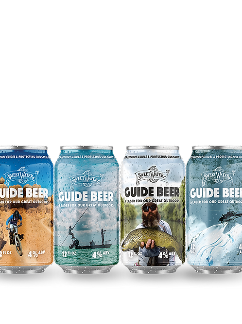 Sweetwater Guide Lager 12 pack Cans