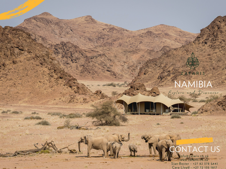 NAMIBIA: Explore & Discover