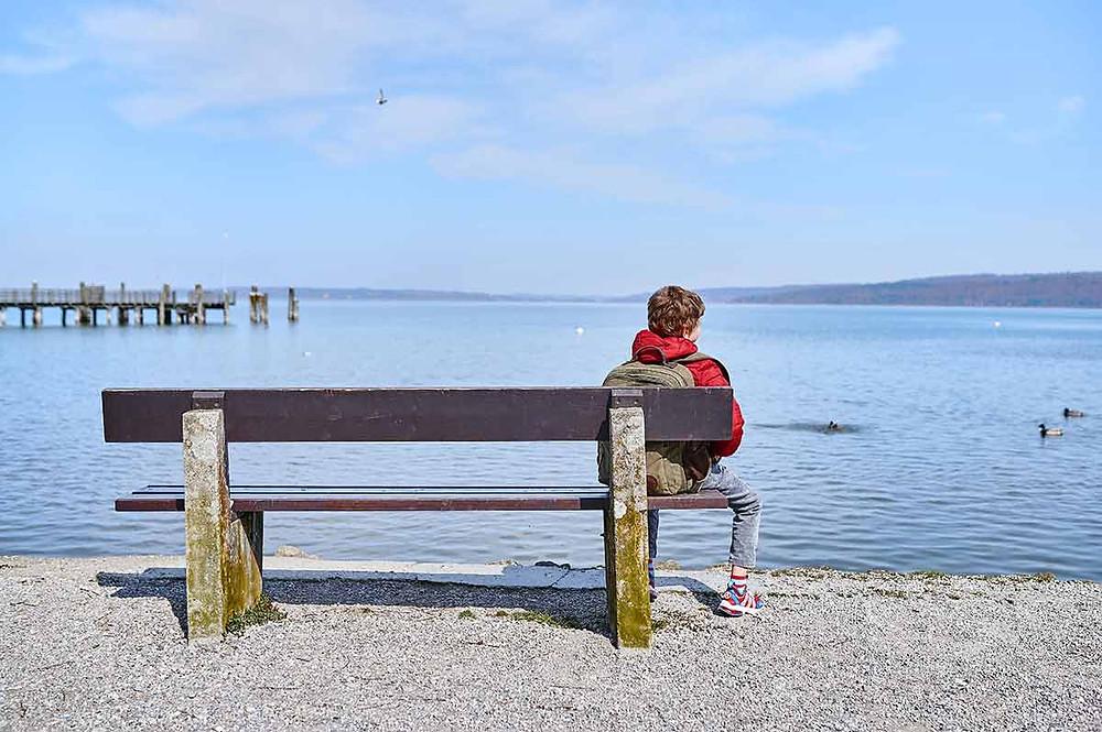Ausflug mit Kindern zum Ammersee Dießen