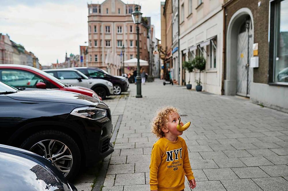 Familienausflug nach Augsburg mit Kindern Maximilianstraße