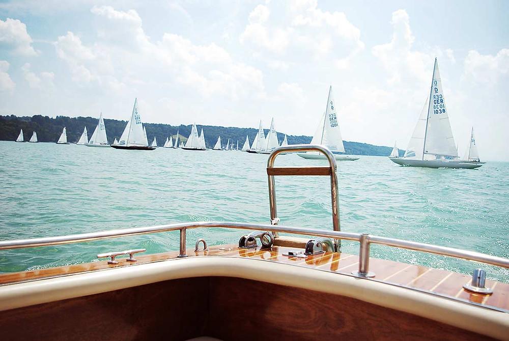 Familienausflug nach Starnberg am Starnberger See Bootsverleih Segelboote