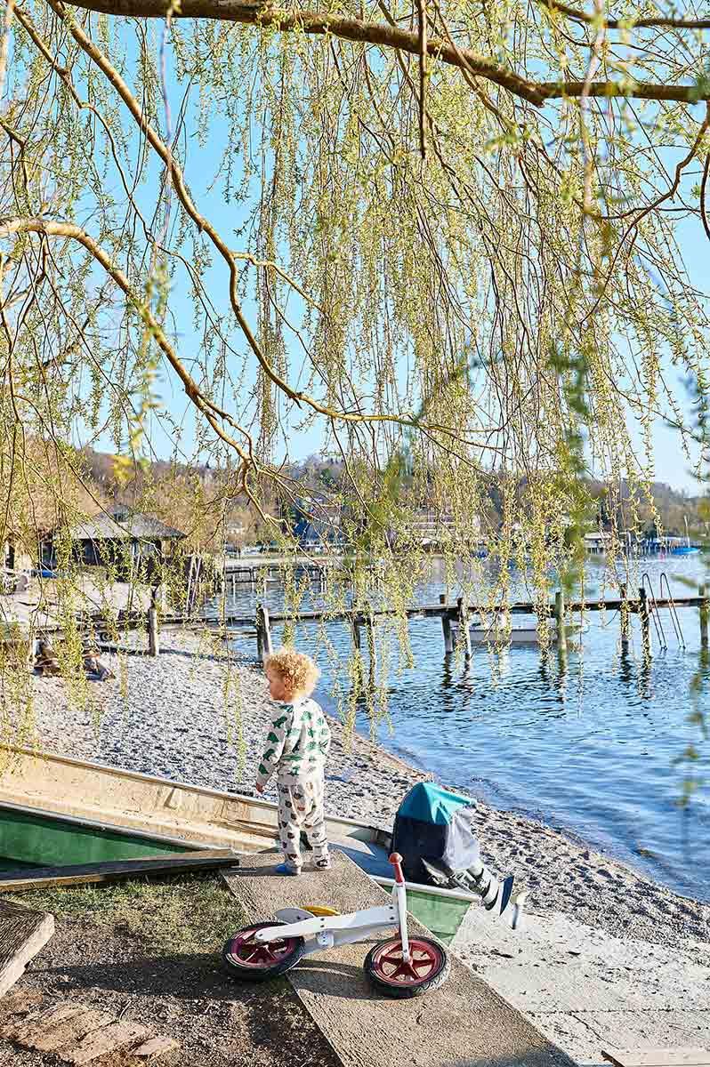 Herrsching am Ammersee bei München Familienausflug