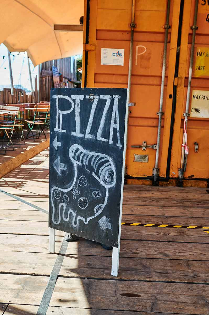 Alte Utting in München Schlachthofviertel Ausflug mit Kindern Schiff Pizza Da Vito