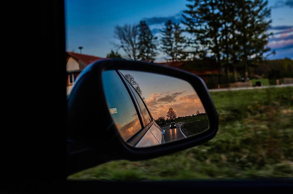 Familienausflug zum Starnberger See bei München Autofahrt