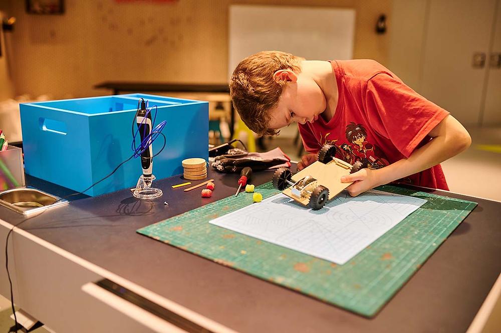 Junior Campus in der BMW Welt in München Workshop