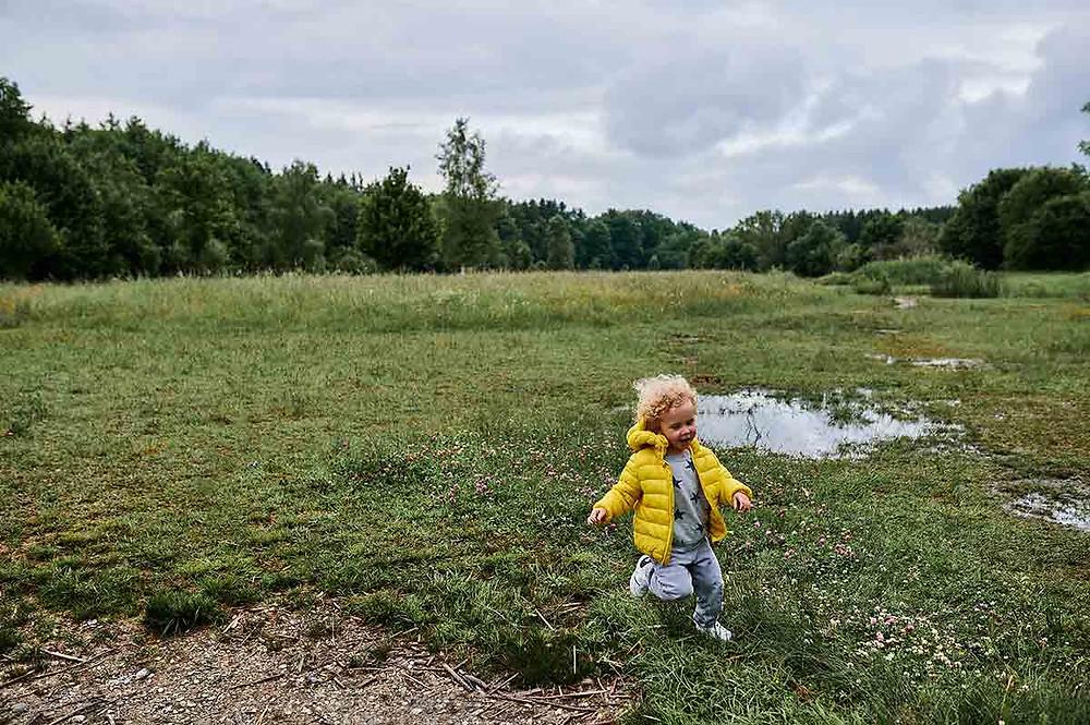 Familienausflug München Aubing Froschweiher