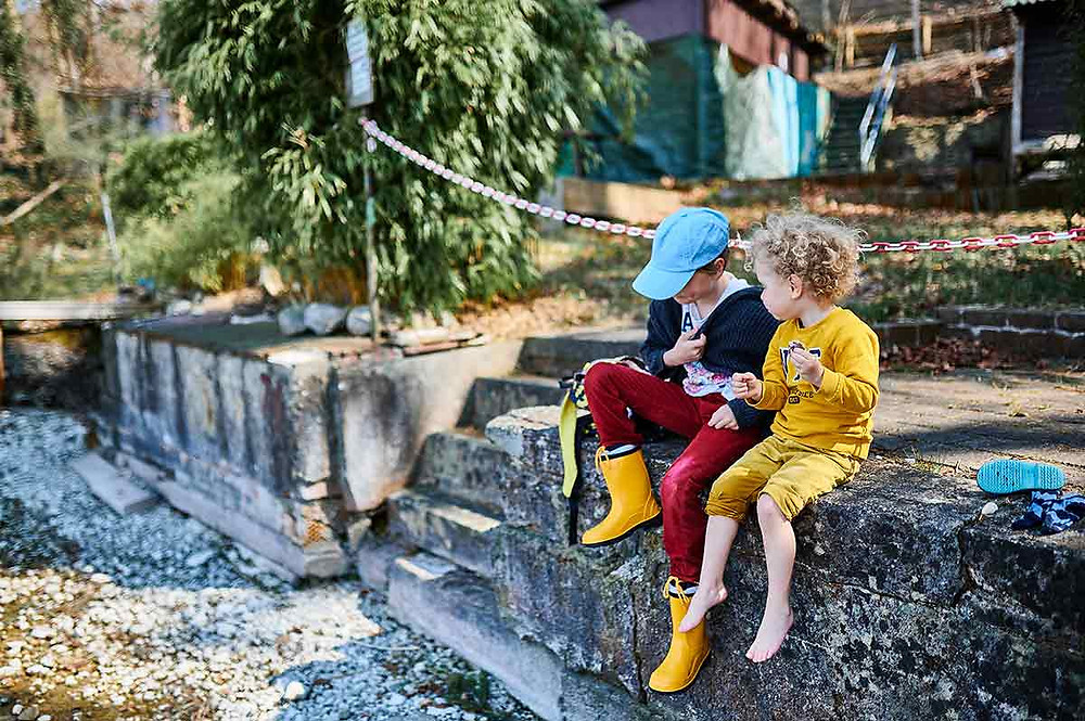 Pilsensee Ausflug mit Kindern