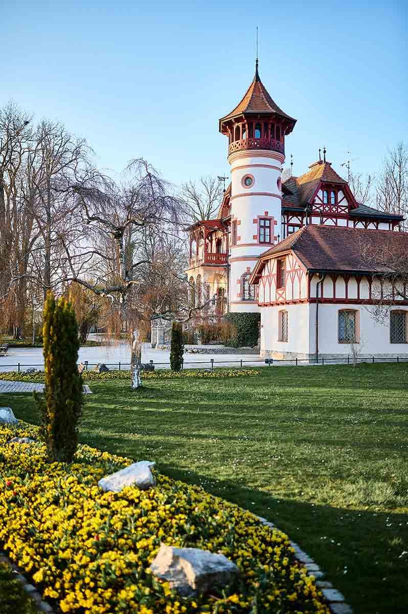 Herrsching am Ammersee bei München Familienausflug Kurparkschlösschen