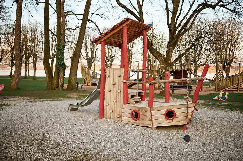 Familienausflug nach Starnberg am Starnberger See Spielplatz