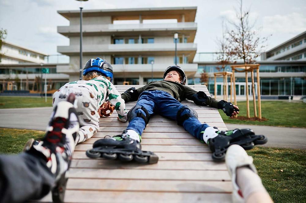 Familienausflug zum Sportpark Freiham München