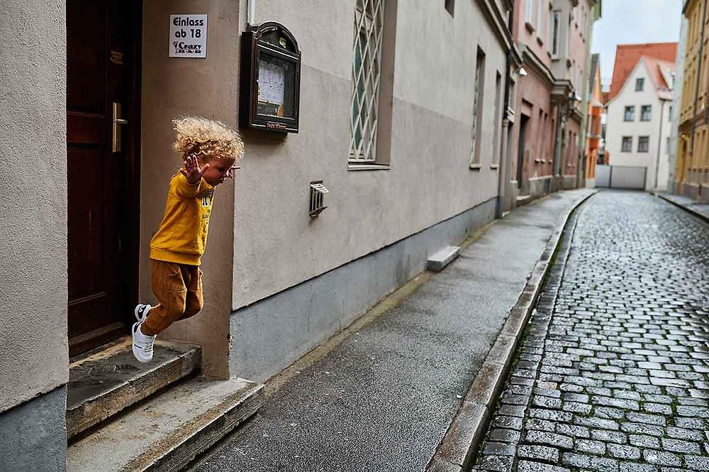 Familienausflug nach Augsburg mit Kindern Altstadt