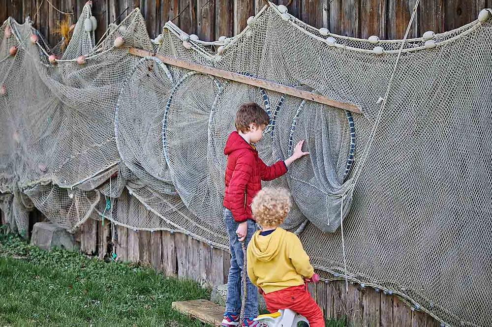 Dießen am Ammersee Fischernetze