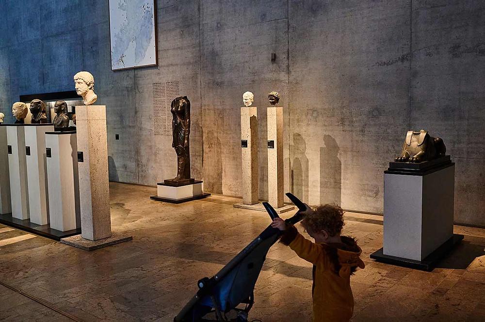 Familienausflug SMÄK Städtisches Museum der Ägyptischen Kunst München mit Kind