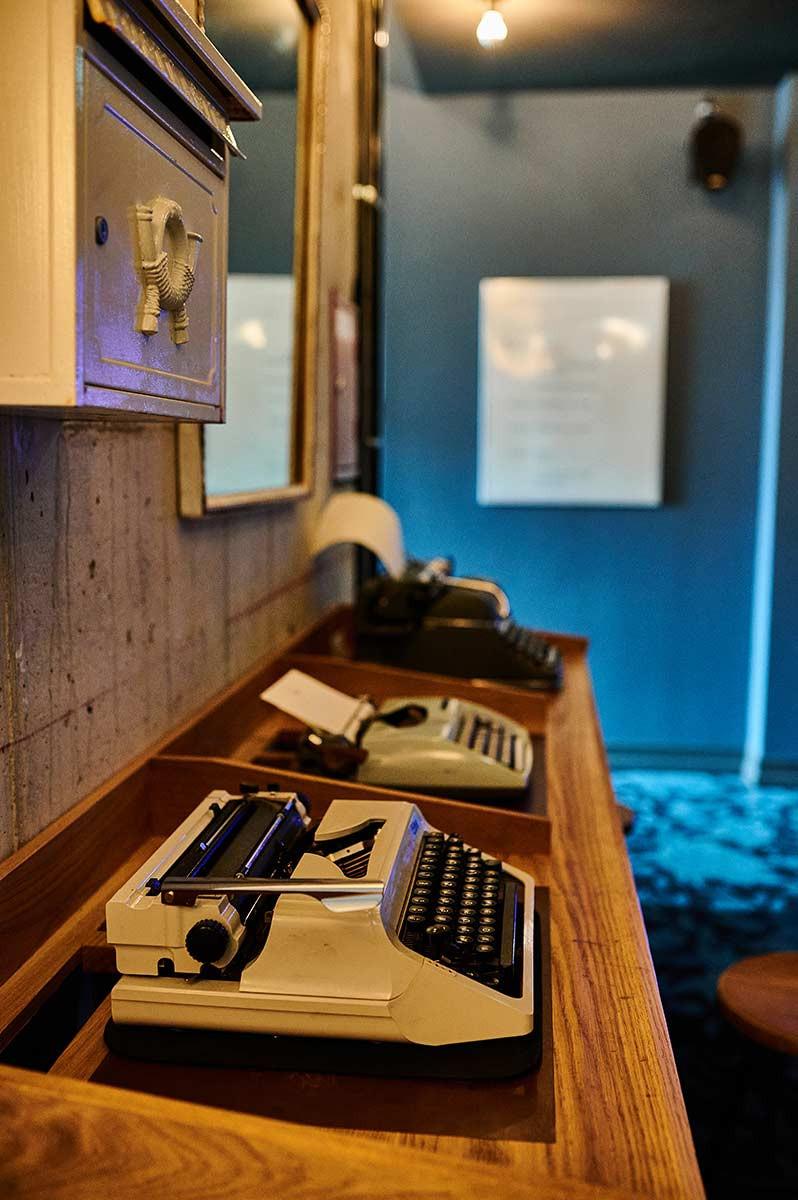 Familienausflug nach München ins Restaurant NENI und das 25hours Hotel am Hauptbahnhof Schreibmaschine