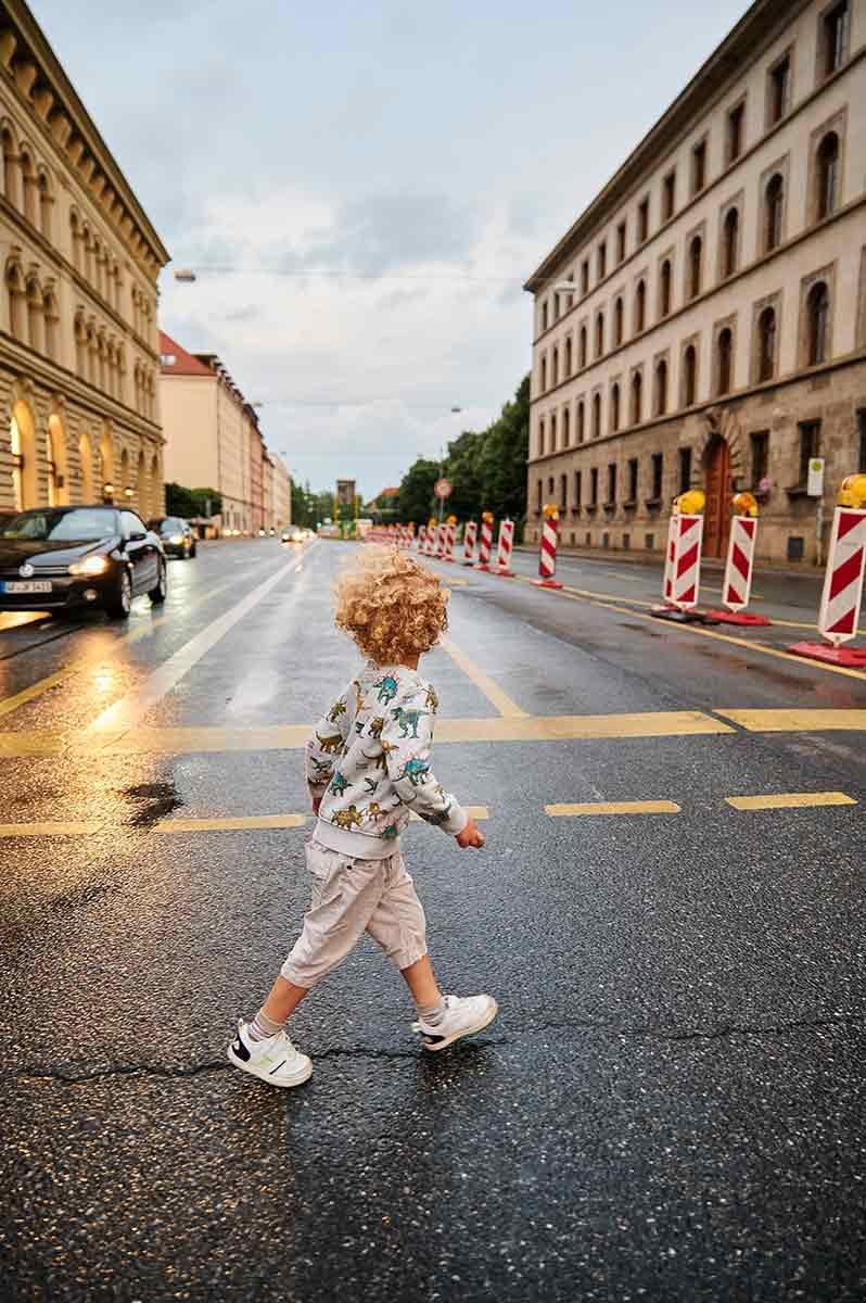 Ausflug mit Kindern in München Ludwigstraße Familienausflug