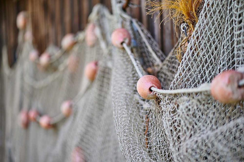 Dießen am Ammersee Fischernetz