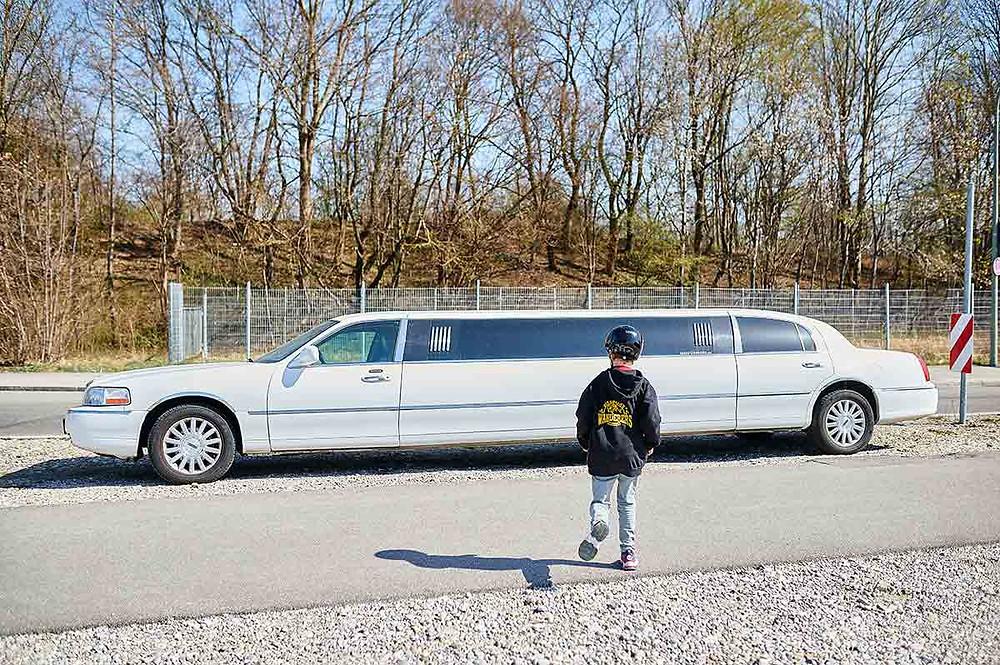 Ausflug mit Kindern in München Freiham Limousine