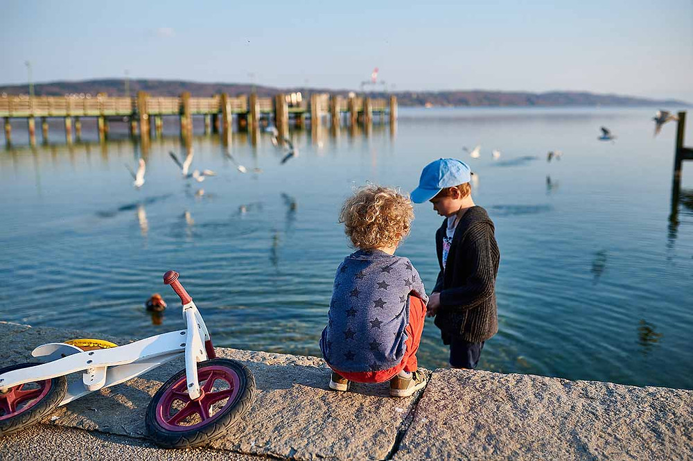 Familienausflug nach Starnberg am Starnberger See Kinder