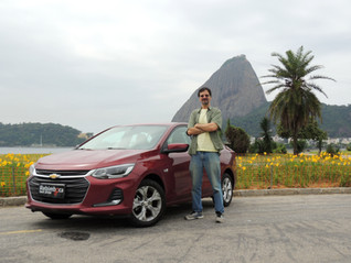 Chevrolet Onix Plus em test-drive