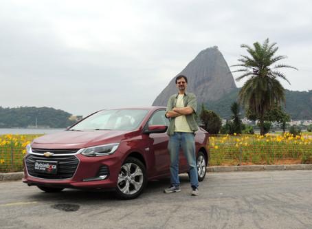 Chevrolet Onix Plus em test-drive
