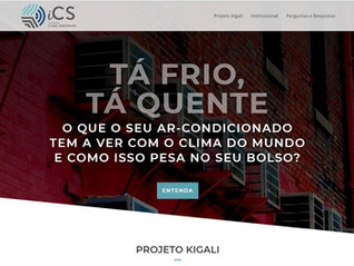 Site lança o Projeto Kigali no Brasil