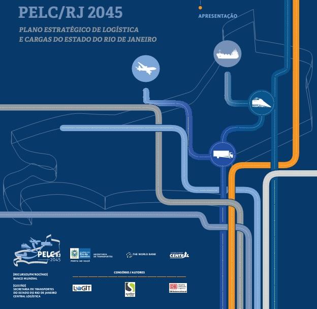 Capa do folder institucional do PELC