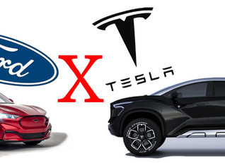 Ford versus Tesla