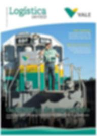 Informativo Logística em Foco, publicação da área de logística da Vale - Rebimboca agência de comunicação e produção de conteúdo