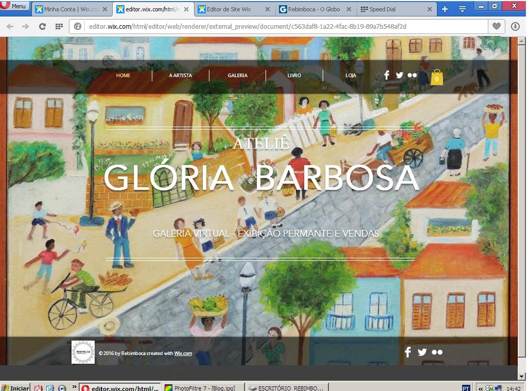 WebGaleria da artista Glória Barbosa