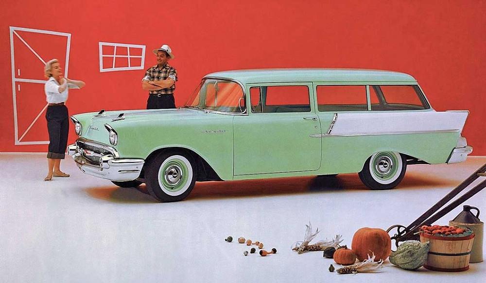 Anúncio da Chevrolet, 1957