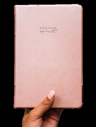 Inspire Spirit Planner - Elegant Rose Gold