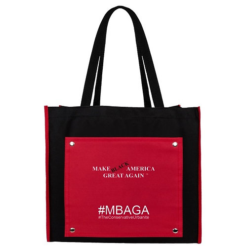 #MBAGA Signature TCU Snapshot Meeting Tote Bag (Red or Blue)