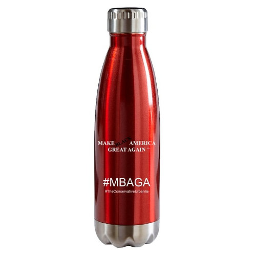 #MBAGA Signature TCU Stainless Steel Vacuum Bottle (Red and Blue)