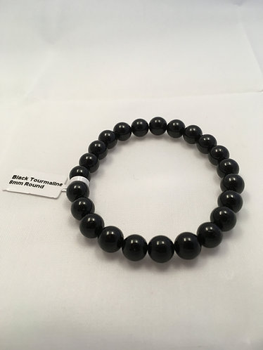 Black Tourmaline Mala Bracelet