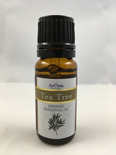 Tea Tree 10ml Certified Organic Melaleuca Alternifolia