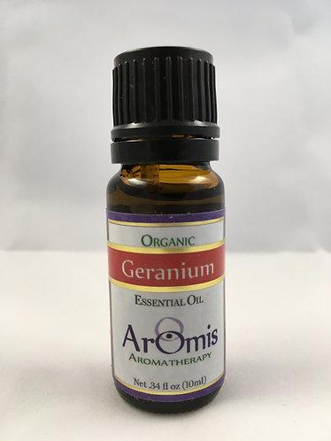 Geranium 10ml Certified Organic Pelargonium graveolens
