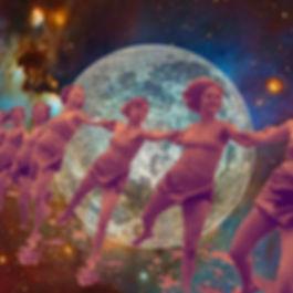 Pleine Lune - création Hélène Jamesse