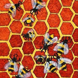Bees by Ricardo Cavolo