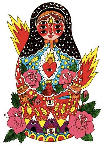Matriochka by Ricardo Cavolo