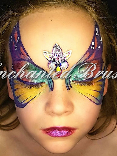 Face painter in Glasgow