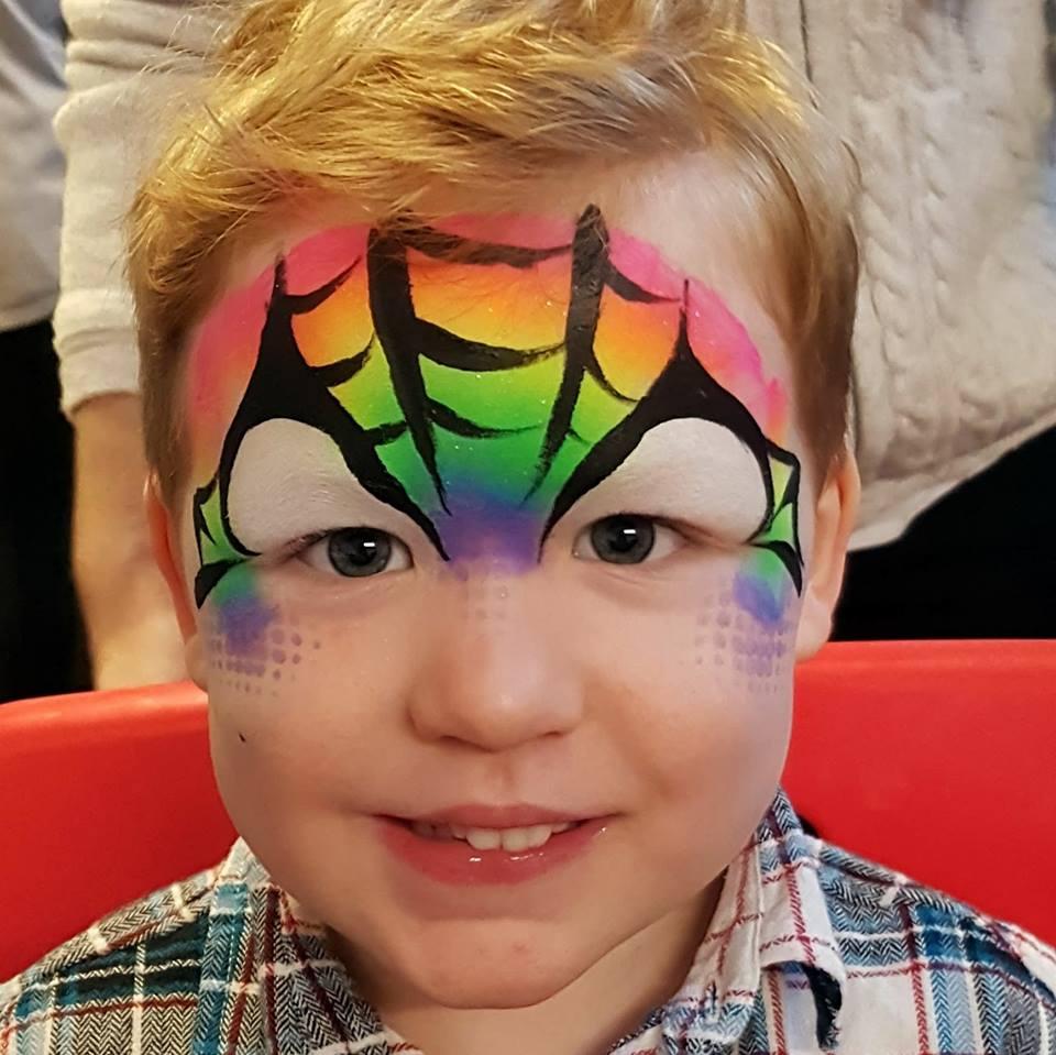 rainbow spidey