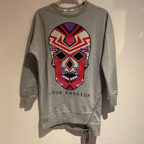 Pullover Totenkopf