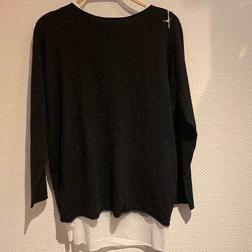 Pullover mit Bluse