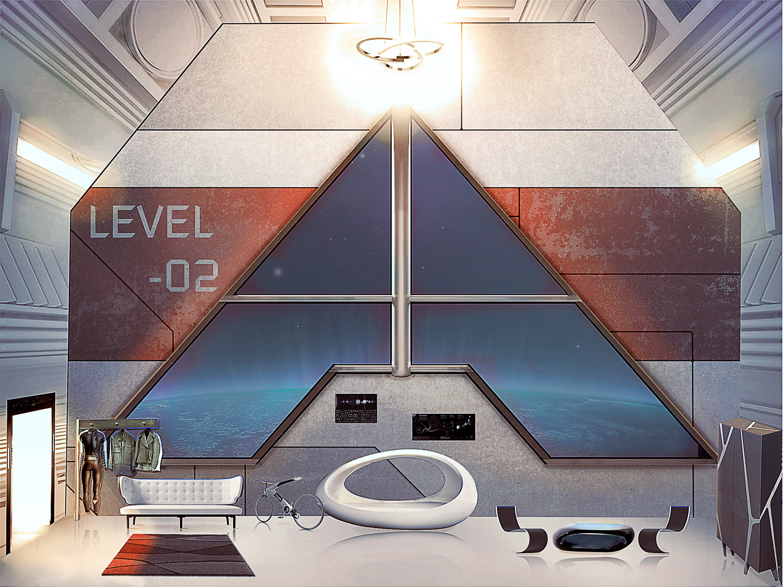 Habitación Espacial Beyond Trsis