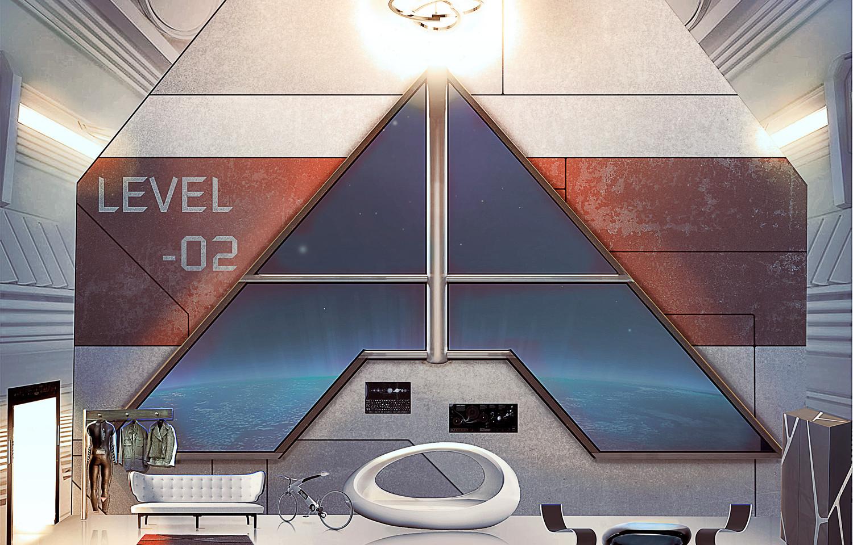 Habitacion Espacial Beyond Tarsis