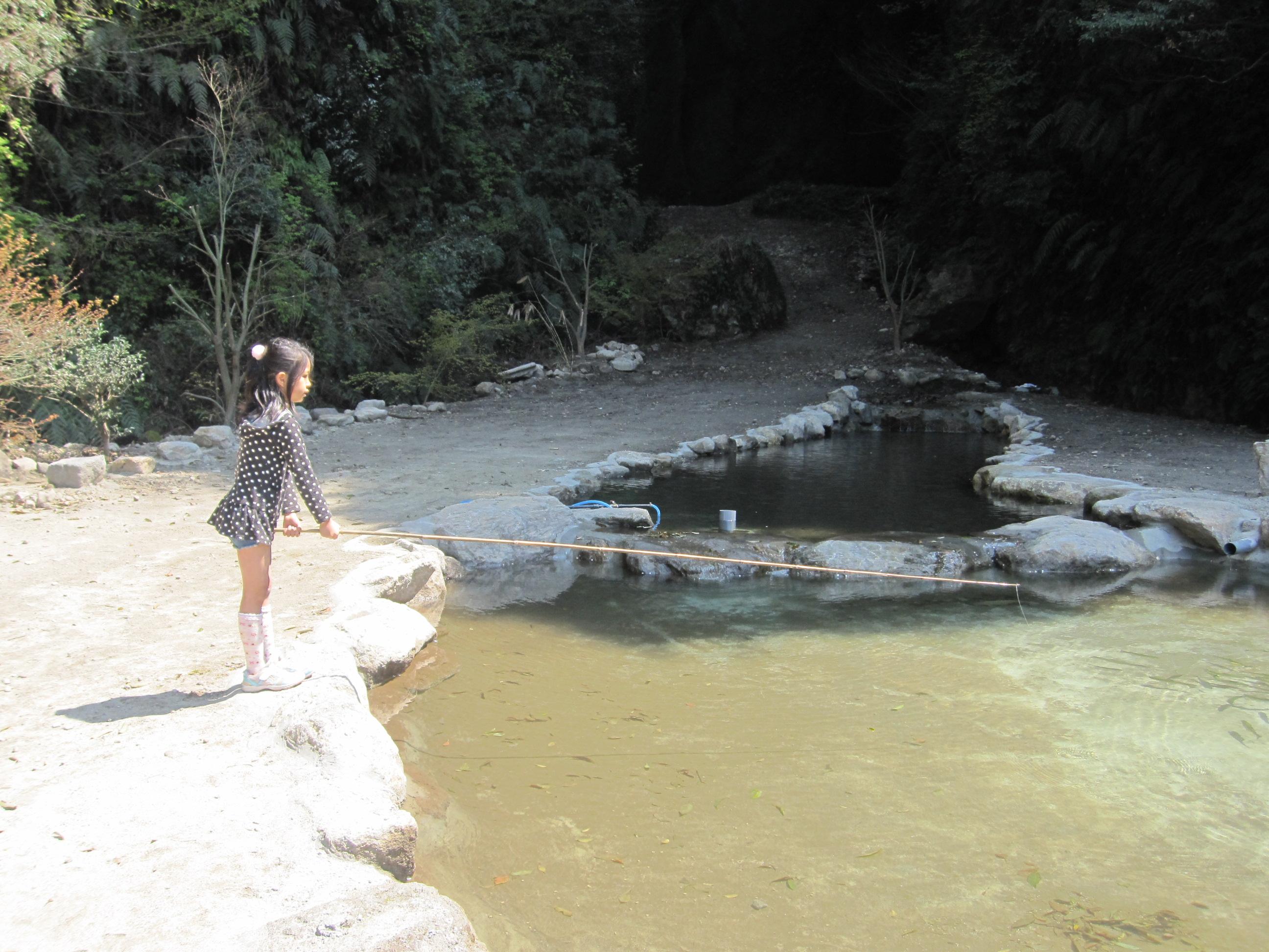 渓流つり場