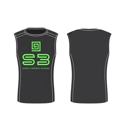 S3 Sleeveless Gym Shirt