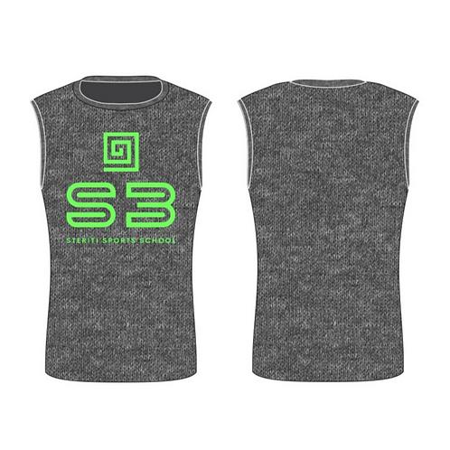 S3 Heather Texture Half Sleeve Tshirt