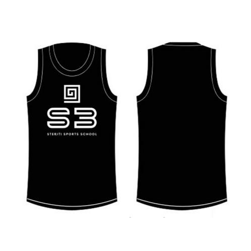 S3 Men's Sleeveless Racing Tshirt